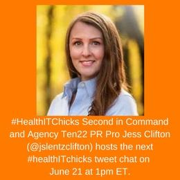 #HealthITchicks June 21 Tweet Chat